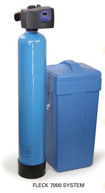 70/16TB-110-C2441-FR - Fleck 7000 Time Based Water Softener w/ Fine Mesh Resin